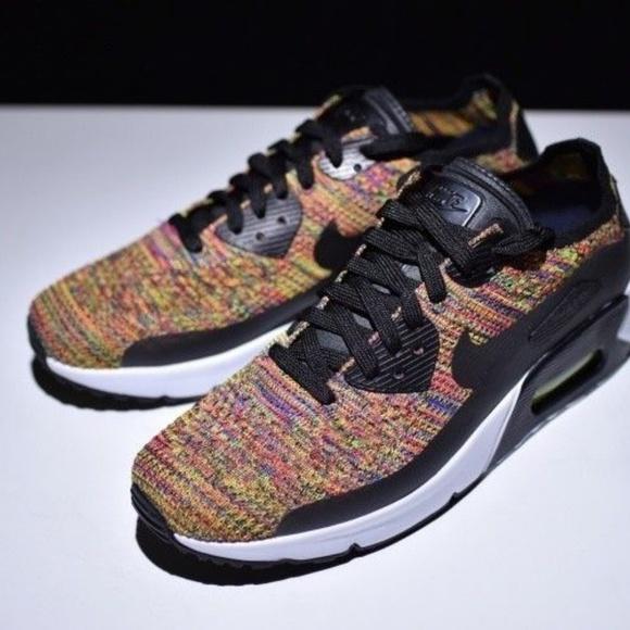 e8ccea626209e Nike Air Max 90 Ultra Flyknit Multicolor NIB